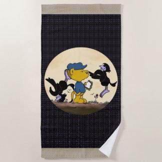 Ferald & The Pesky Crows Beach Towel