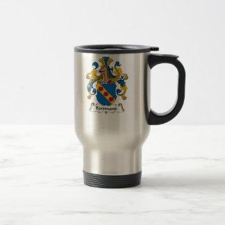 Ferdinand Family Crest Travel Mug
