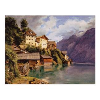 Ferdinand Georg Waldmüller: Hallstatt Postcard