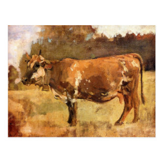 Ferdinand Hodler, Cow in a Pasture Postcard