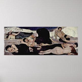 Ferdinand Hodler - Night Poster