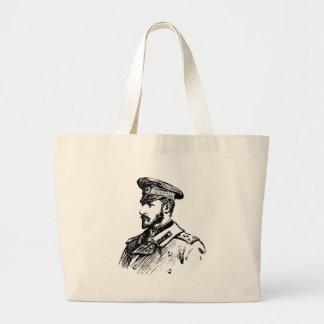 Ferdinand I of Bulgaria Large Tote Bag