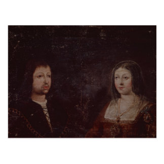 Ferdinand II of Aragon and Isabella I of Castile Postcard
