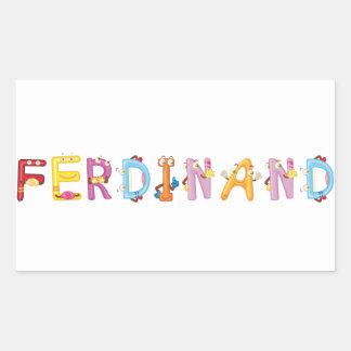 Ferdinand Sticker