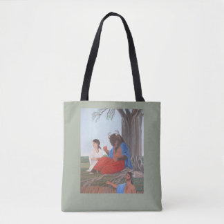 Ferdinand the Minotaur tote bag