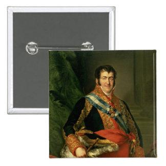 Ferdinand VII  1808-11 2 Inch Square Button