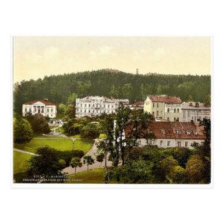 Ferdinand's Street, Marienbad, Bohemia, Austro-Hun Postcard