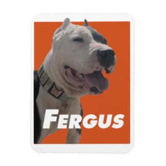 Fergus The Barbers Dog Magnet