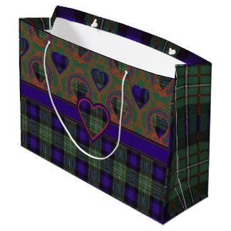 Ferguson clan Plaid Scottish tartan Large Gift Bag