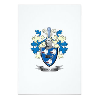 Ferguson Family Crest Coat of Arms Card
