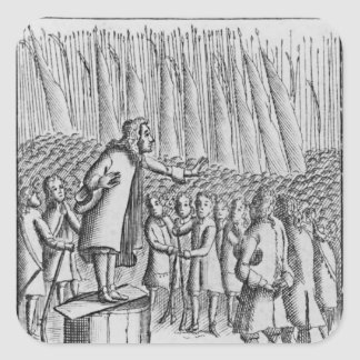 Ferguson preaching to rebels the day before sticker