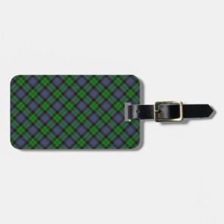 Ferguson Scottish Clan Tartan Design Bag Tag
