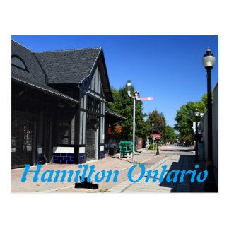 Ferguson Station Hamilton Ontario Postcard