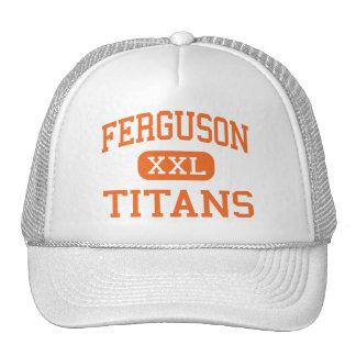 Ferguson - Titans - Junior - Arlington Texas Trucker Hats