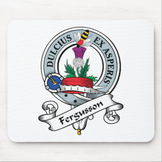 Fergusson Clan Badge Mouse Pad