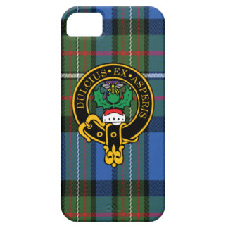 Fergusson Scottish Crest and Tartan iPhone 5/5S Case For The iPhone 5