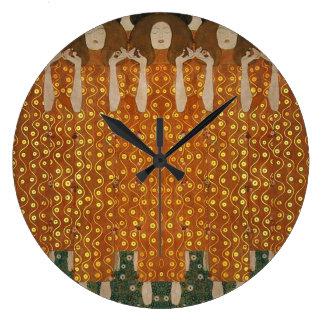 Ferklempt for Klimt Large Clock