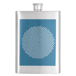 Fermat's Spiral Hip Flask