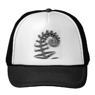 Fern and Frond in charcoal Trucker Hat