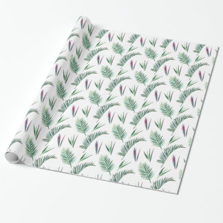 Fern and Fronds Jungle Themed Wrapping Paper