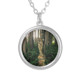 Fern Angel Silver Plated Necklace