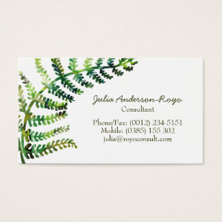 Fern Bussiness Card