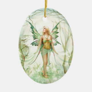 """Fern"" Fairy by Scot Howden Ceramic Ornament"