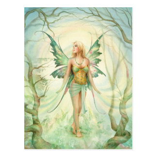 """Fern"" Fairy by Scot Howden Postcard"