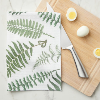 Fern Frenzy Kitchen Towel
