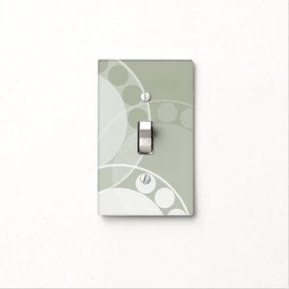 Fern Frond Design - Light Green - Light Switch