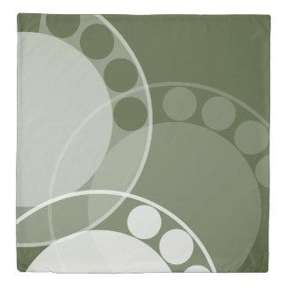 Fern Frond - Monochrome Green - Turnover Duvet