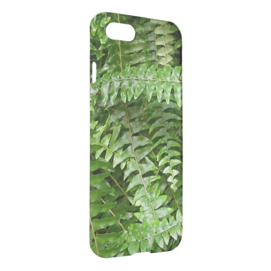 Fern Fronds I Green Nature iPhone 8/7 Case