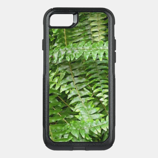 Fern Fronds I Green Nature OtterBox Commuter iPhone 8/7 Case