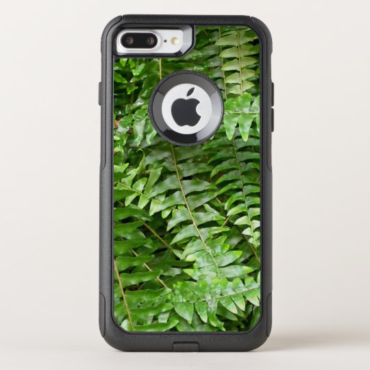 Fern Fronds I Green Nature OtterBox Commuter iPhone 8 Plus/7 Plus Case