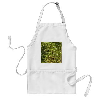 Fern Green Abstract Low Polygon Background Standard Apron