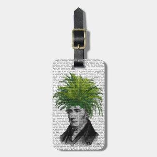 Fern Head Plant Head Bag Tag