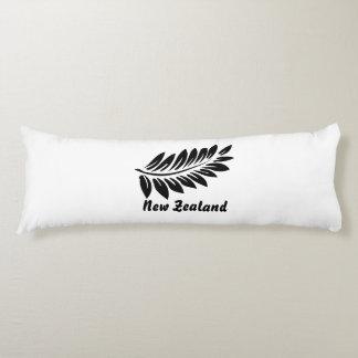 Fern leaf body pillow