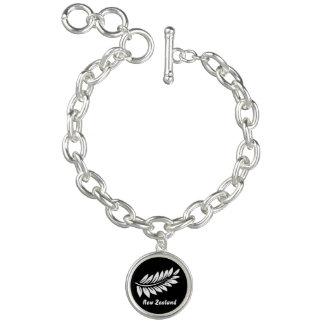 Fern leaf bracelet