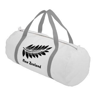 Fern leaf gym bag