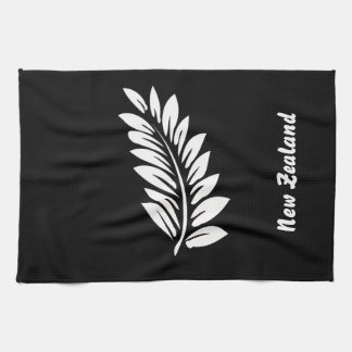 Fern leaf kitchen towel
