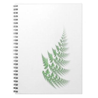 fern leaf notebook