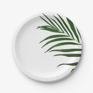 Fern Leaf Paper Plates