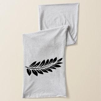 Fern leaf scarf