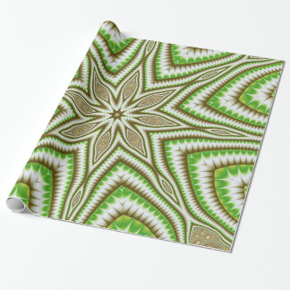 Fern Leaf Star Wrapping Paper