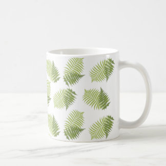 Fern Leaves Coffee Mug