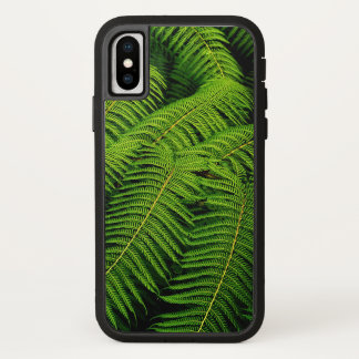 Fern Leaves iPhone X Case