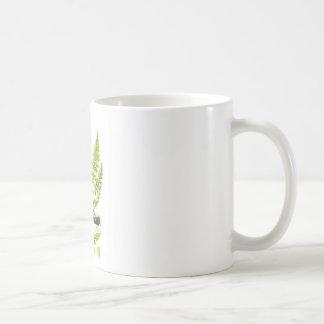 Fern No 6 Green Fern Plant Tropical Decor Mugs