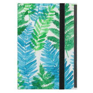 Fern watercolor iPad mini cover