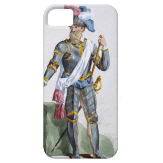Fernand Cortez (1485-1547), engraved by Pierre Duf iPhone 5 Cover