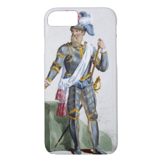 Fernand Cortez (1485-1547), engraved by Pierre Duf iPhone 7 Case